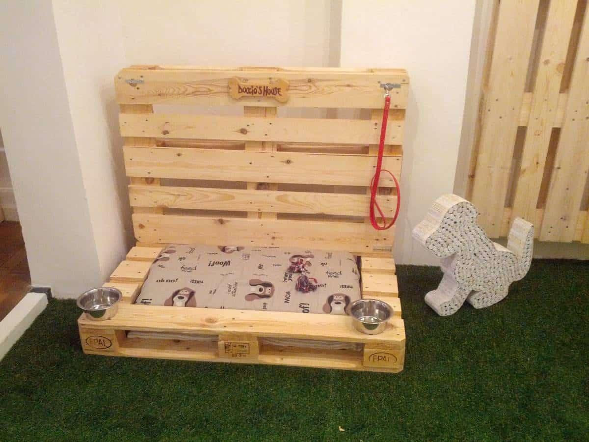 Cuccia per cani eco compatibile by conlegno baubaunews for Cuccia cane fai da te legno